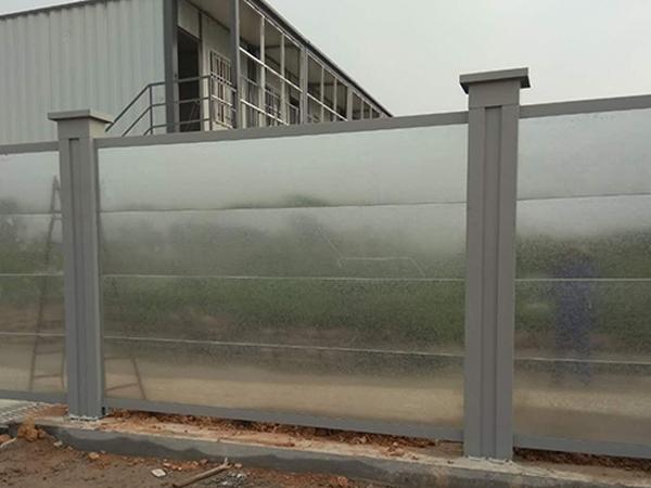 钢结构拼装围挡