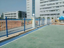 武汉栅栏施工工地